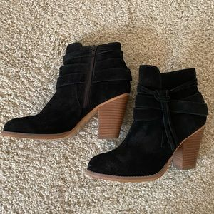 Sole Society Black Booties